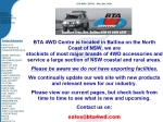 View More Information on Ballina Truck Align