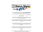 View More Information on Baron Screen Printers