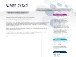 View More Information on Barrington Consulting Group Pty Ltd