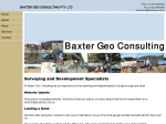 View More Information on Baxter Geo Consulting Pty Ltd