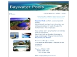 View More Information on Baywater Pools