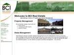 View More Information on BCI Real Estate