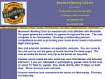 View More Information on Beaumont Bowling Club