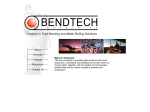 View More Information on Bendtech Industries
