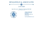 View More Information on Benjafield & Associates