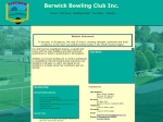 View More Information on Berwick Bowling Club Edwin Flack Reserve