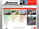 View More Information on Bettacrete Precast Pty Ltd