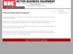 View More Information on Better Business Equipment