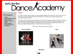 View More Information on Betty Bentley Dance Academy