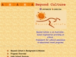 View More Information on Beyond Culture