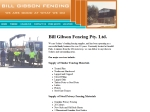 View More Information on Bill Gibson Pty Ltd