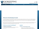 View More Information on Bookkeeping Concepts
