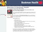View More Information on Bookman Health