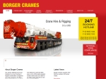 View More Information on Borger Cranes Hire & Rigging Service