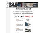 View More Information on Boss Tanks