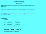 View More Information on Boya Consulting Pty Ltd