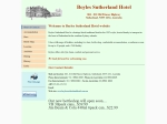 View More Information on Boyles Sutherland Hotel