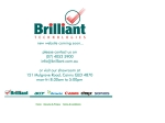 View More Information on Brilliant Technologies