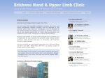 View More Information on Brisbane Hand & Upper Limb Clinic