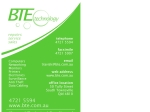View More Information on BTE Technology Pty Ltd