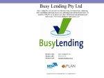 View More Information on Busy Lending Pty Ltd