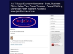 View More Information on Buzza J & T Mens Store