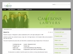 View More Information on Camerons Lawyers