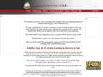 View More Information on Canberra Services Club