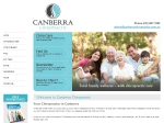 View More Information on Canberra Chiropractic Clinic, City