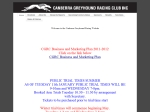 View More Information on Canberra Greyhound Racing Club Inc, Narrabundah