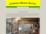 View More Information on Canberra Mower Service