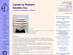 View More Information on Canberra Potters' Society Inc, Watson