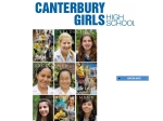 View More Information on Canterbury Girls' High School
