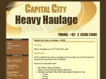 View More Information on Capital City Heavy Haulage