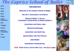 View More Information on Caprice School Of Ballet The