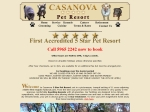 View More Information on Casanova Boarding Kennels & Cattery & Grooming