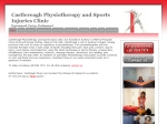 View More Information on Castlereagh Physiotherapy & Sports Injury Clinic