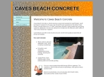 View More Information on Caves Beach Concrete