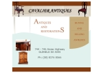 View More Information on Cavalier Antiques & Restorations, Glenelg