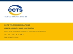 View More Information on CCTS Telecommunication Constructions Pty Ltd