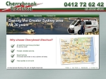 View More Information on Cherrybrook Electrical