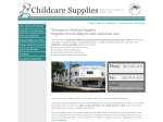 View More Information on Childcare Supplies