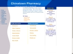 View More Information on Chinatown Pharmacy