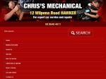 View More Information on Chris' Mechanical, Hawker