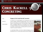 View More Information on Chris Kackell Concreting