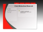 View More Information on Chris Richardson Removals