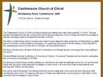 View More Information on Churches Of Christ, Castlemaine