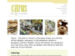 View More Information on Citrus The Deli On Jonson