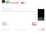 View More Information on City Holden, Hillcrest