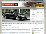 View More Information on City Motors, Perth